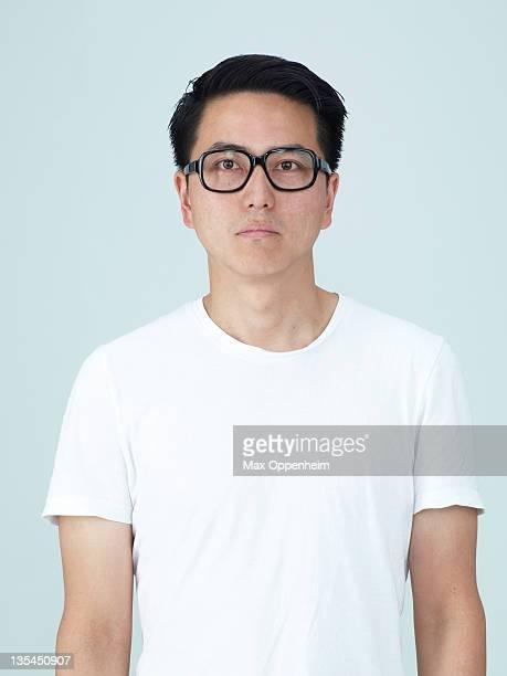 Portraits on white