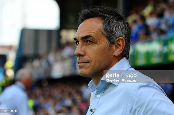 Portsmouth manager Guy Whittingham the Sky Bet League Two match at Fratton Park Portsmouth