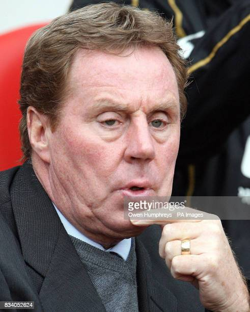 Portsmouth manager Harry Redknapp ahead of the Barclays Premier League match at the Stadium of Light Sunderland