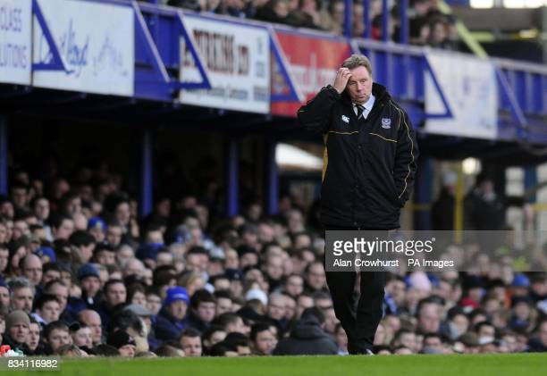 Portsmouth manager Harry Redknapp during the Barclay's Premier League match at Fratton Park Portsmouth