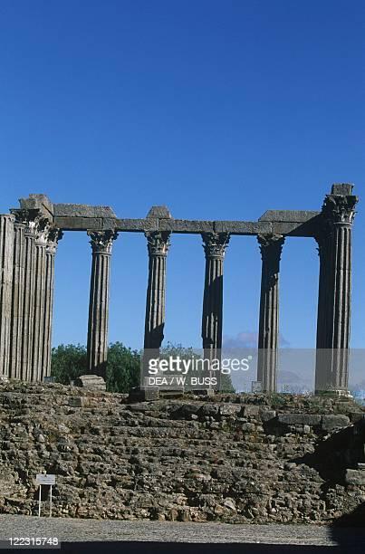 Portugal Alto Alentejo Evora Roman temple of Diana 2nd3rd century