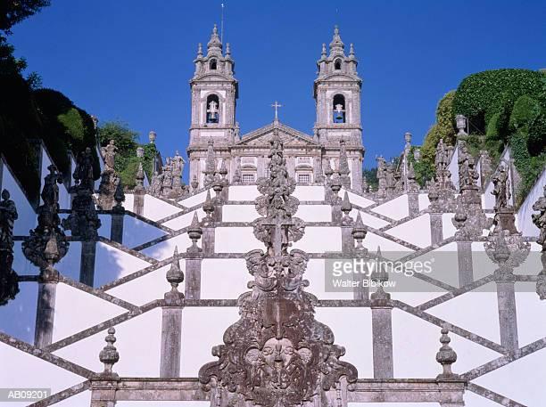 Portugal, Braga District, Braga, Bom Jesus do Monte, exterior
