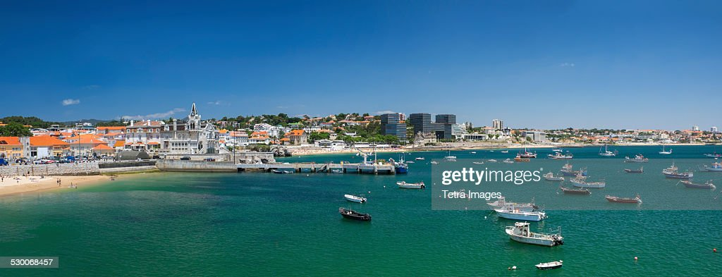 Portugal, Cascais, Ocean coastline