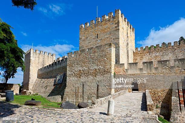 Portugal, Castelo de Sao Jorge in Lisbon
