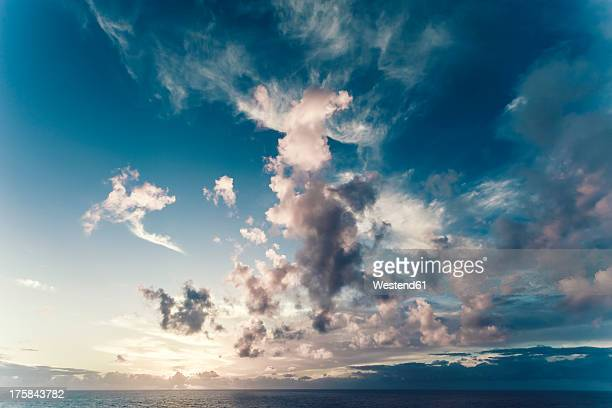 Portugal, Cloudy sky over sea