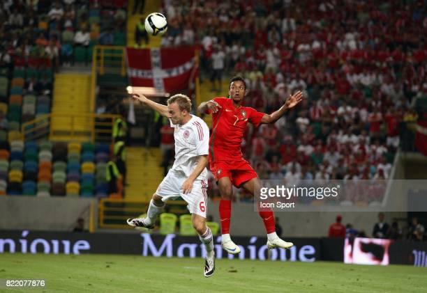 JACOBSEN / NANI Portugal / Danemark Eliminatoire de la Coupe du Mond 2010