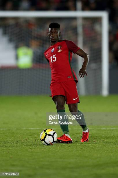 Portugal defender Edgar Le during the match between Portugal and Saudi Arabia InternationalFriendly at Estadio do Fontelo on November 10 2017 in...