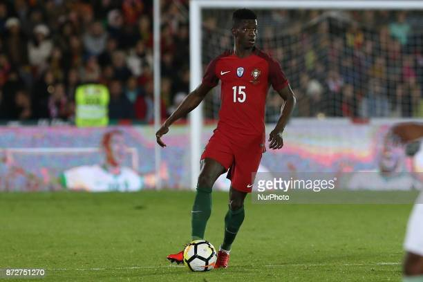 Portugal defender Edgar Le during the match between Portugal v Saudi Arabia International Friendly at Estadio do Fontelo on November 10 2017 in...