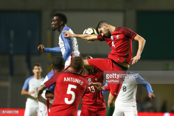 Portugal defender Luis Neto during the match between Portugal and United States of America International Friendly at Estadio Municipal de Leiria on...