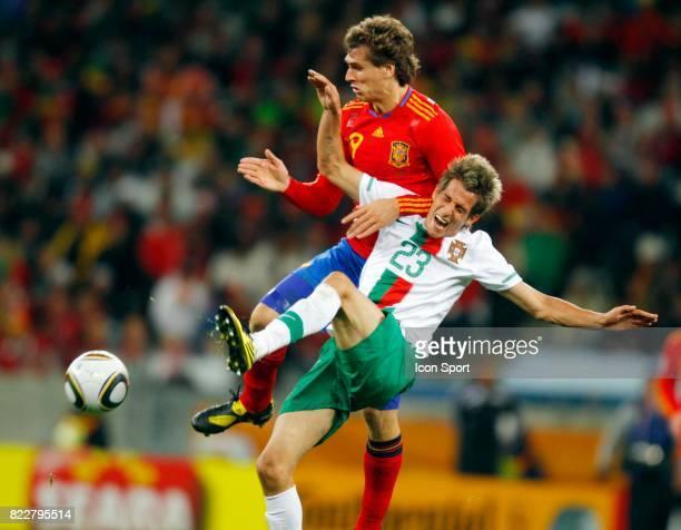 COENTRAO Portugal / Espagne 1/8 Finale Coupe du Monde 2010 Cap Town