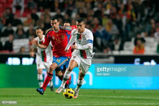 RONALDO Portugal / Espagne Match amical au Portugal