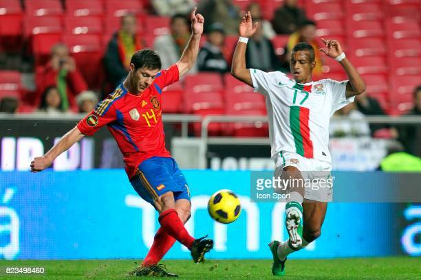 ALONSO / NANI Portugal / Espagne Match amical au Portugal