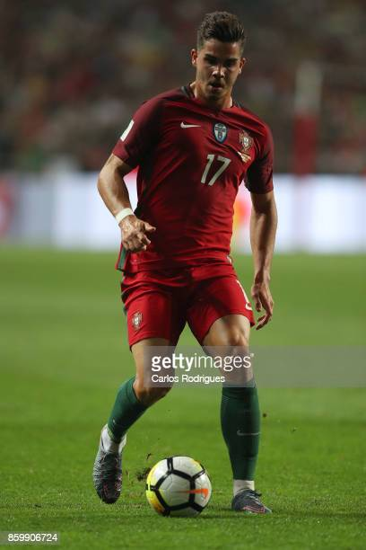 Portugal forward Andre Silva during the match between Portugal and Switzerland for FIFA 2018 World Cup Qualifier at Estadio da Luz on October 10 2017...