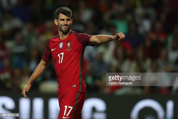 Portugal forward Nelson Oliveira during the match between Portugal v Faroe Islands FIFA 2018 World Cup Qualifier match at Estadio do Bessa on August...