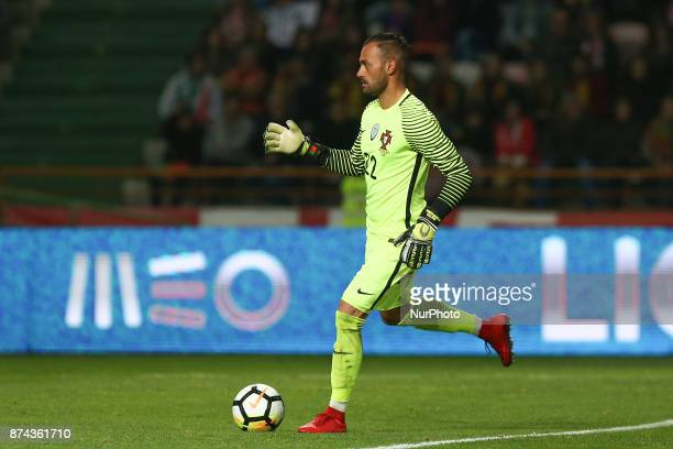 Portugal goalkeeper Beto during the match between Portugal and United States of America International Friendly at Estadio Municipal de Leiria on...