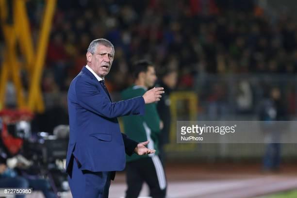 Portugal head coach Fernando Santos during the match between Portugal v Saudi Arabia International Friendly at Estadio do Fontelo on November 10 2017...