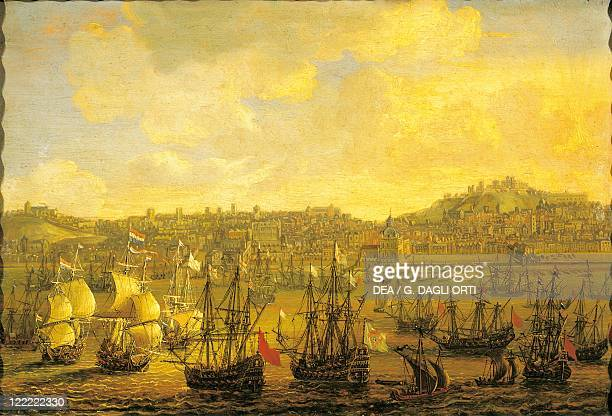 Portugal Lisbon 17th century View of the city