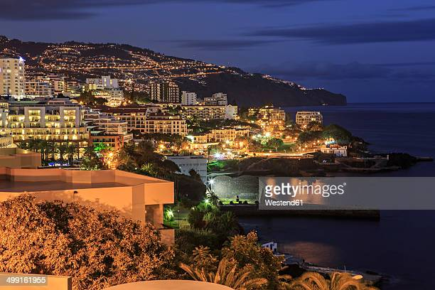 Portugal, Madeira, Funchal by night