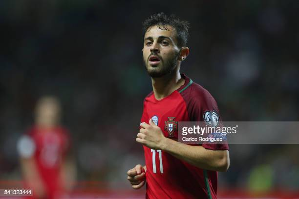Portugal midfielder Bernardo Silva during the match between Portugal v Faroe Islands FIFA 2018 World Cup Qualifier match at Estadio do Bessa on...
