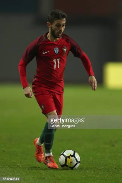 Portugal midfielder Bernardo Silva during the match between Portugal and United States of America International Friendly at Estadio Municipal de...