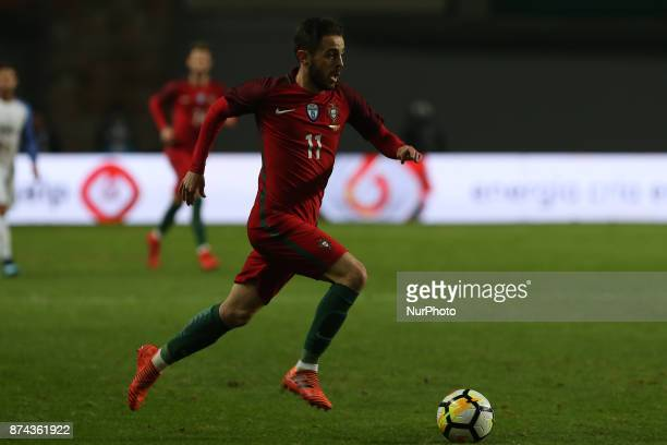 Portugal midfielder Bernardo Silva during the match between Portugal and United States of America International Friendly at Estadio Municipal de...