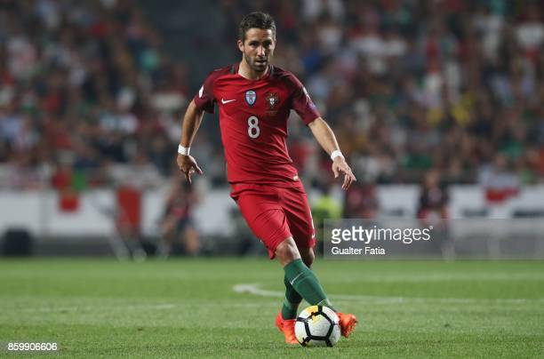 Portugal midfielder Joao Moutinho in action during the FIFA 2018 World Cup Qualifier match between Portugal and Switzerland at Estadio da Luz on...