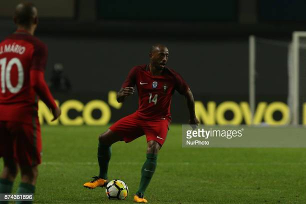 Portugal midfielder Manuel Fernandes during the match between Portugal and United States of America International Friendly at Estadio Municipal de...