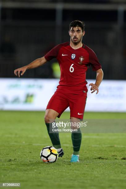 Portugal midfielder Ruben Neves during the match between Portugal and Saudi Arabia InternationalFriendly at Estadio do Fontelo on November 10 2017 in...