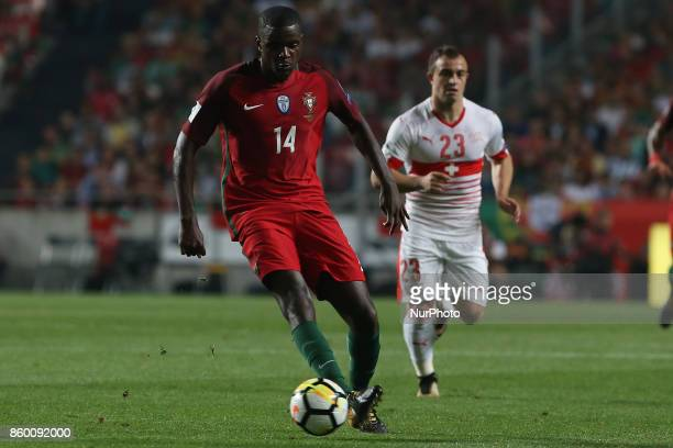 Portugal midfielder William Carvalho during the match between Portugal v Switzerland FIFA 2018 World Cup Qualifier match at Luz Stadium on October 10...