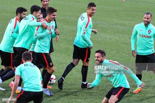 Portugal national football team forward Cristiano Ronaldo forward Andre Silva defender Jose Fonte midfielder Ricardo Quaresma midfielder Bernardo...