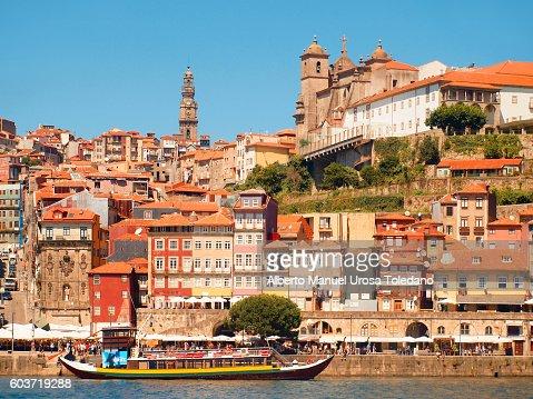 Portugal, Porto, Ribeira do Douro, Cruise and Cathedral