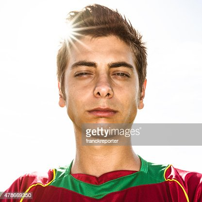 portugal Soccer player portrait