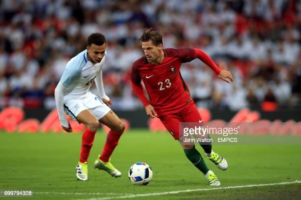 Portugal's Adrien Silva and England's Dele Alli