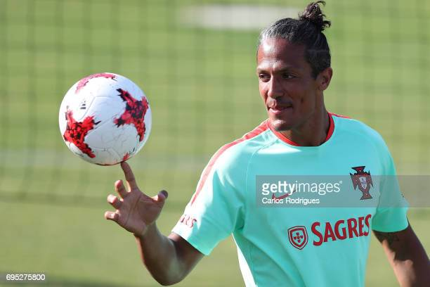 Portugal's defender Bruno Alves during Portugal Training Session and Press Conference for the Confederations Cup 2017 at Cidade do Futebol on June 12...