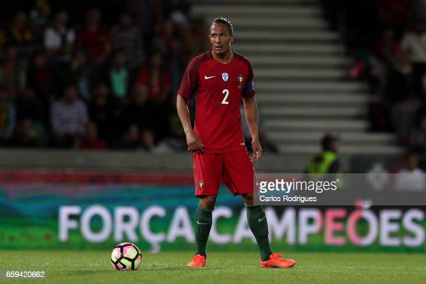 Portugal's defender Bruno Alves during the match between Portugal v Sweden International Friendly at Estadio dos Barreiros on March 28 2017 in...
