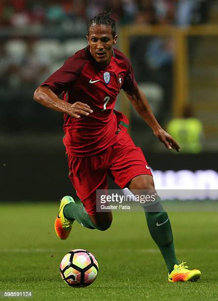 Portugal's defender Bruno Alves in action during the International Friendly match between Portugal and Gibraltar at Estadio do Bessa on September 1...