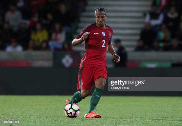 PortugalÕs defender Bruno Alves in action during the International Friendly match between Portugal and Sweden at Estadio dos Barreiros on March 28...