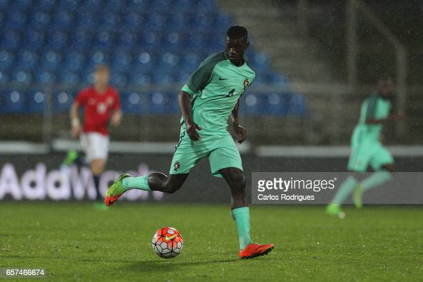 Portugal's defender Edgar Le during the match between Portugal v Norway U21 International Friendly match at Estadio Antonio Coimbra da Mota on March...