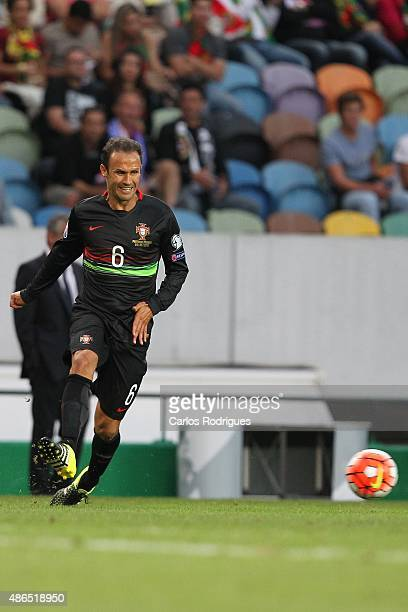 Portugal's defender Ricardo Carvalho during the Friendly match between Portugal and France on September 04 2015 in Lisbon Portugal