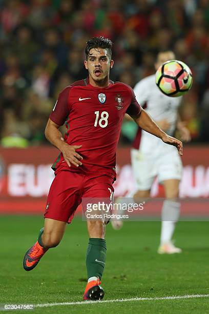 Portugal's forward Andre Silva from Portugal during the Portugal v Latvia FIFA 2018 World Cup Qualifier match at Estadio do Algarve on November 13...