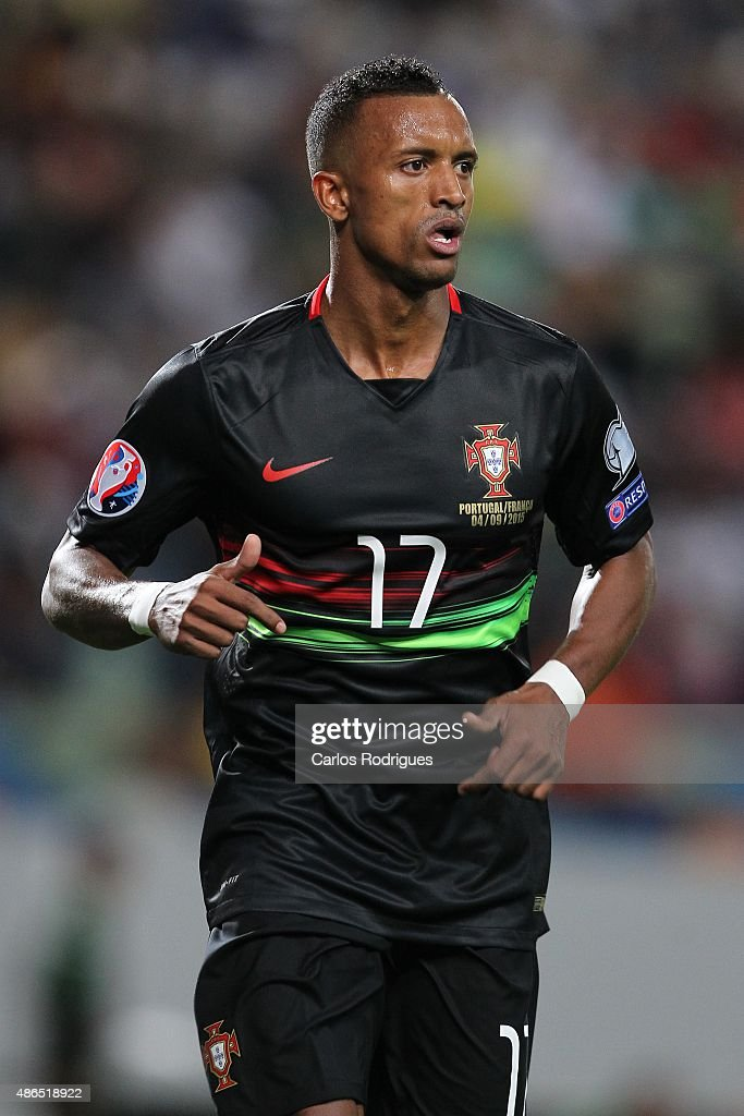 Portugal's forward <a gi-track='captionPersonalityLinkClicked' href=/galleries/search?phrase=Nani+-+Soccer+Player&family=editorial&specificpeople=11510994 ng-click='$event.stopPropagation()'>Nani</a> during the Friendly match between Portugal and France on September 04, 2015 in Lisbon, Portugal.