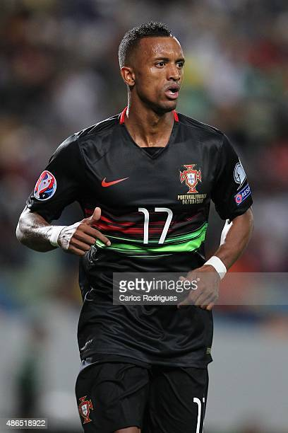 Portugal's forward Nani during the Friendly match between Portugal and France on September 04 2015 in Lisbon Portugal