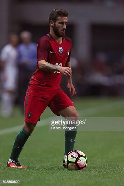 Portugal's forward Rafa Silva during the match between Portugal vs Gilbratar friendly match at Estadio do Bessa on September 01 2016 in Porto Portugal