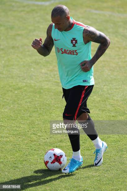 Portugal's forward Ricardo Quaresma during Portugal Training Session and Press Conference for the Confederations Cup 2017 at Cidade do Futebol on...