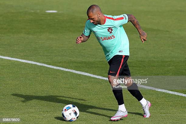 Portugals forward Ricardo Quaresma Portugal's National Team Training session in preparation for the Euro 2016 at FPF Cidade do Futebol on June 5 2016...