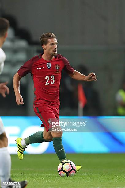 Portugal's midfielder Adrien Silva during the match between Portugal vs Gilbratar friendly match at Estadio do Bessa on September 01 2016 in Porto...