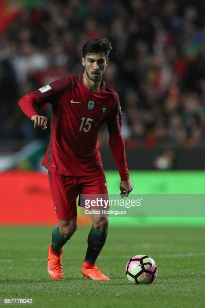 Portugal's midfielder Andre Gomes during the match between Portugal and Hungary for FIFA 2018 World Cup Qualifier at Estadio da Luz on March 25 2017...