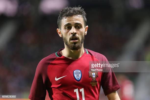 Portugals midfielder Bernardo Silva during the FIFA 2018 World Cup friendly match between Portugal v Sweden at Estadio dos Barreiros on March 28 2017...