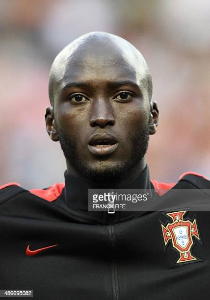 Portugal's midfielder Danilo Pereira poses during the Euro 2016 friendly football match Portugal vs France at the Jose Alvalade stadium in Lisbon on...