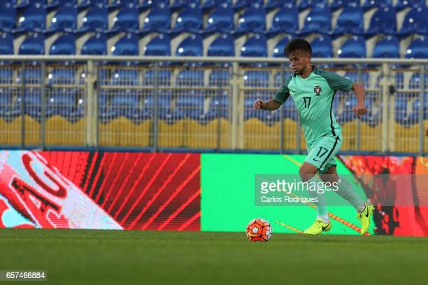 Portugal's midfielder Francisco Ramos during the match between Portugal v Norway U21 International Friendly match at Estadio Antonio Coimbra da Mota...